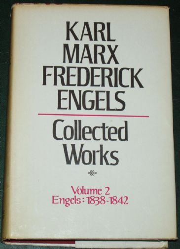 Karl Marx and Frederick Engels - Collected Works, Volume 2, 1838-1842